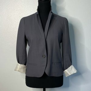 ☀️2 For $30☀️ J.Crew   Lightweight Grey Blazer
